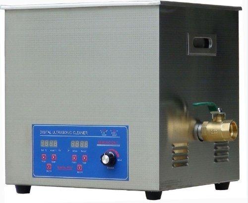 30L multifonctionnel en acier inoxydable nettoyeur à ultrasons machine à laver Thermostat digital paramètres de courroie, puissance réglable avec un panier 80KZ haute fréquence