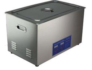 30L professionnel en acier inoxydable nettoyeur à ultrasons machine de nettoyage Chauffage Courroie réglable Qualité commerciale 110V/220V