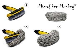 Brosse Revêtement microfibre pour Kärcher Nettoyeur ultrasons Soft Brosse en croisé 2.640–590Brosse (non incluse)
