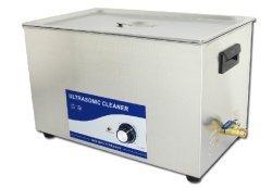 Gowe 110V/220V 500W 30L nettoyeur à ultrasons de nettoyage pièces d'Auto en acier inoxydable machine de nettoyage à ultrasons de bain