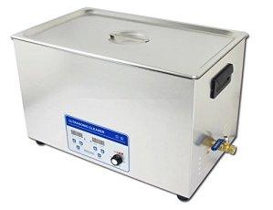 Gowe 110V/220V haute puissance 600W Digital nettoyeur à ultrasons 30L haute capacité machine de nettoyage pour appareils médicaux + Gratuit Panier