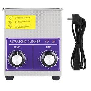 Nettoyeur à Ultrasons, 2-22L Appareil Nettoyeur Ultrasonique Professionnel avec Panier Fonction Chauffant Machine de Nettoyage Mécanique pour Nettoyage Dentaires Bijoux Lunettes (2L)