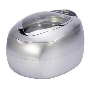 Nettoyeur à ultrasons, 650ml Nettoyage Bijoux Machine pour Lunettes, Montres, Colliers, monnaie, Rasoirs, Dentiers, Peignes