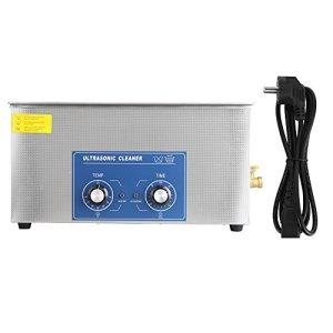 Nettoyeur à Ultrasons Professionnel, 1 Pièces en Acier inoxydable Nettoyeur à ultrasons Chauffé Machine avec panier (Variété de Tailles: 2L/ 3L/ 6L/ 10L/ 14L/ 15L/ 19L/ 22L)(22L)