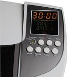 QINGXI Nettoyeur à ultrasons 3L Commercial LCD Numérique Afficher Nettoyage Machine, Couleur Blanche, Plastique Panier