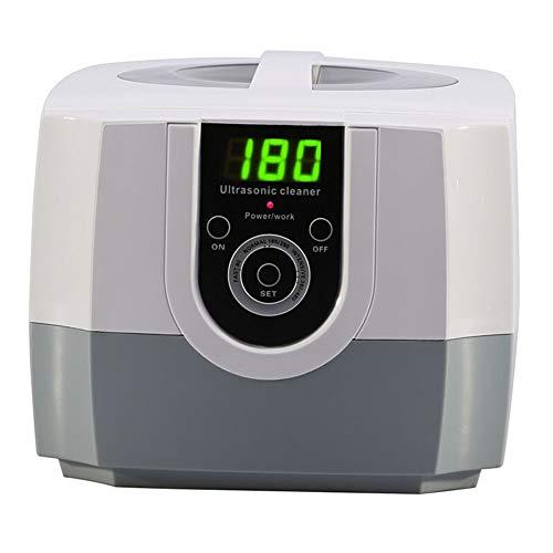 XIAO J Nettoyeur à ultrasons de grande puissance, affichage LCD avec fonction de synchronisation, adapté aux magasins de bijoux Commercial, pour le nettoyage de lunettes, montres, bagues, colliers, ra
