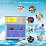 Nettoyeur à ultrasons numérique de haute qualité en acier inoxydable, nettoyeur à ultrasons pour bijoutier