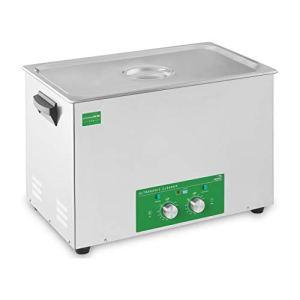 Ulsonix Nettoyeur Ultrason Professionnel Bac Ultrason Nettoyage Ultrason PROCLEAN 28.0M ECO (28 L, 480 W, Minuterie 60 min, Acier Inoxydable) Eco