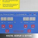 VEVOR Nettoyeur A Ultrasons 10L Ultrasonic Cleaner Professionnel Nettoyeur Digital Affichage Ultrasonique (10L)