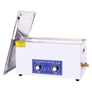 22L Nettoyeur à Ultrasons Professionnel, 600W Machine de nettoyage ultrasonique d'acier inoxydable pour les bijoux, verres, carte de circuit imprimé, nettoyage de montres