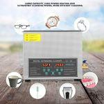 Nettoyeur ultrasonique industriel 6 L machine de nettoyage ultrasonique en acier inoxydable numérique à double fréquence prise UE 220 V