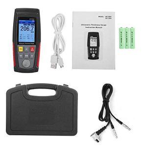 RONGW JKUNYU WT100A Jauge d'épaisseur numérique à ultrasons haute précision Charge USB