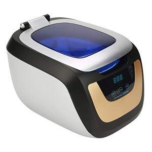 Ultrasonic Cleaner Nettoyeur à ultrasons professionnel, 750 ml, petit nettoyant à ultrasons, utilisé pour nettoyer les bijoux, montres, lunettes, dents, etc.