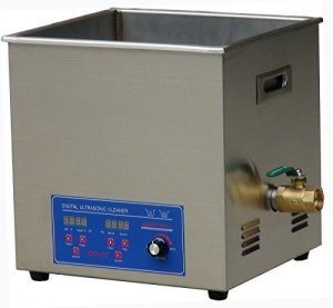 MXBAOHENG KS-040HAL2 Nettoyeur à ultrasons Industriel Haute fréquence 10 L avec Panier 120 KHZ, 110V
