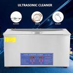 Nettoyeur à ultrasons numérique 22L 480W avec minuterie numérique de chauffage, pour le nettoyage des outils électroniques, bijoux, lunettes, équipement électronique