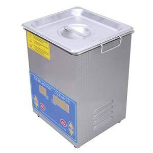 1-99min 40khz produit scientifique nettoyeur à ultrasons fournitures de nettoyage de laboratoire étanche pour l'industrie 100%(European plug 200-240V)