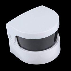 DDyna Mini Nettoyeur ultrasonique Ultra sonique sans Fil pour prothèses à Anneau de Bijoux Nettoyage Professionnel et Usage Personnel – Blanc