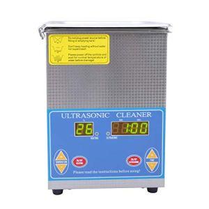Nettoyeur à ultrasons de l'outil de nettoyage à ultrasons 1.3L de fournitures de nettoyage de laboratoire à des fins multiples(European plug 200-240V)