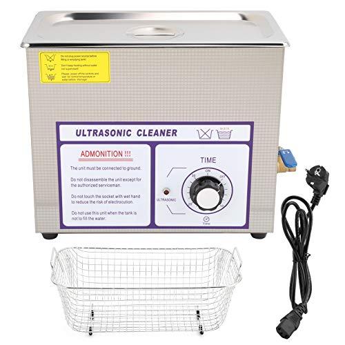 Nettoyeur ultrasonique 180W de machine de nettoyage ultrasonique pour les circuits imprimés de laboratoire de pièces d'auto de matériel(pink)