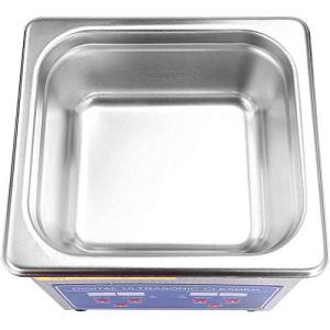 Nettoyeur à ultrasons en acier inoxydable 150 x 135 x 65 mm 50 W pour nettoyer de nombreux types d'objets