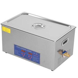 Nettoyeur à ultrasons en acier inoxydable – 22 l – 480 W – Avec chauffage, minuterie numérique et panier
