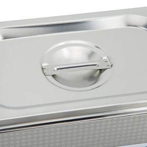 Ausla Nettoyeur à ultrasons, Machine de Nettoyage résistant à la Corrosion avec minuterie de 800 ML pour Bijouterie