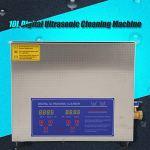 Germerse Nettoyeur à ultrasons 10L, Machine de Nettoyage de Bijoux Nettoyage d'articles délicats pour Le Nettoyage de matériel pour la Maison