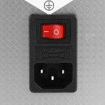 LANTRO JS – Nettoyeur à ultrasons, nettoyeur à ultrasons industriel en acier inoxydable avec minuterie de chauffage, machine à réservoir de nettoyeur à ultrasons avec panier(22L)