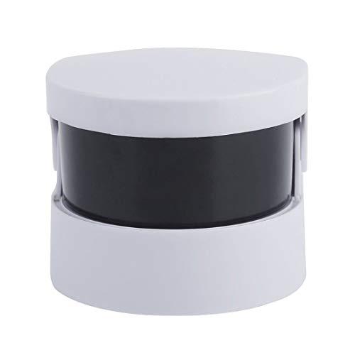 Mini Nettoyeur ultrasonique Ultra sonique sans Fil pour Anneau de Bijoux prothèses Nettoyage Professionnel et Usage Personnel – Blanc 1 Taille – Blanc 1 Taille