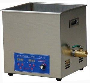 MXBAOHENG KS-080HAL2 Nettoyeur à ultrasons pour bijoux Affichage numérique industriel haute fréquence 120 kHz 20 l avec panier (220 V)