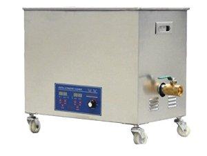 MXBAOHENG KS-100HAL Nettoyeur à ultrasons pour bijoux, affichage numérique, industriel, commercial, haute fréquence 80 kHz 30 l avec panier (220 V)