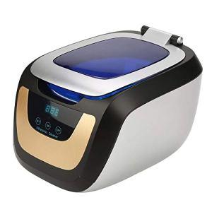 Ausla Nettoyeur à ultrasons numérique, revêtement en Acier Inoxydable 304 Nettoyeur à Ondes à ultrasons Transducteur avancé et Bouton Tactile de la Carte de Commande pour Nettoyer Toutes Sortes