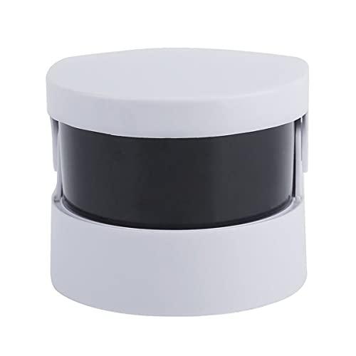 Gobutevphver Nettoyeur sonique sans Fil Compact Mini Nettoyeur ultrasonique Ultra sonique sans Fil pour prothèses dentaires à bagues de Bijoux Nettoyage Professionnel et Usage Personnel – Blanc