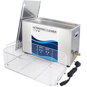 Nettoyeur à ultrasons numérique 30L 600W/720W/900W réchauffeur de dégazage de bain en acier inoxydable 40Khz enlever la voiture de laboratoire de Solution d'huile de rouille de cire,30L-Degas600W