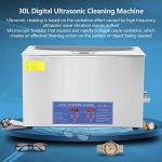 Nettoyeur à ultrasons numérique, nettoyeur à ultrasons haute efficacité avec minuterie pour nettoyer le long trou pour les entreprises et l'industrie