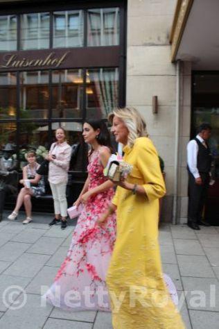 Alessandra de Osma and Princess Chantal of Hannover.