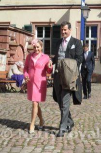 Hereditary Prince Alexander von Isenburg and his wife. Copyright: Gabi P.