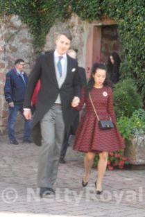 Prince Viktor and Princess Jungeun Anès von Isenburg. Copyright: Gabi P.