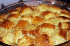 Bread pudding (American version)