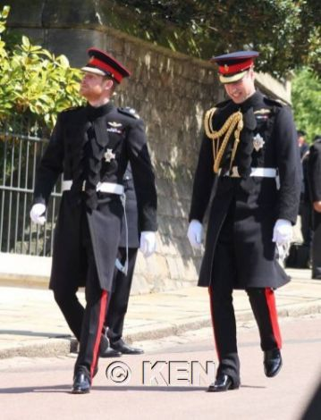 The groom and the Duke of Cambridge