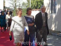 Princess Nora, Princess Margaretha and Prince Nikolaus of Liechtenstein