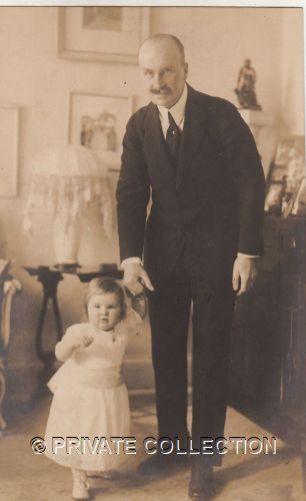 Woizlawa Feodora with her father.