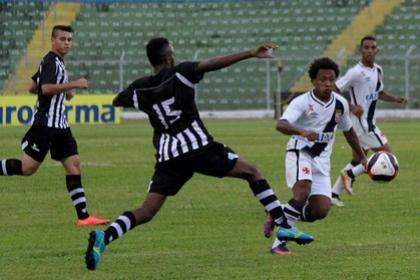 Vasco e Botafogo-PB em jogo pela Copa São Paulo nesta terça