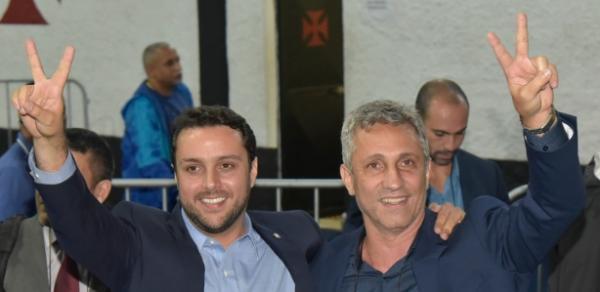 Julio Brant e Alexandre Campello chegaram a ser aliados em eleição do Vasco