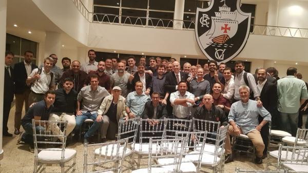 Reunião do Conselho Deliberativo do Vasco na noite de segunda-feira