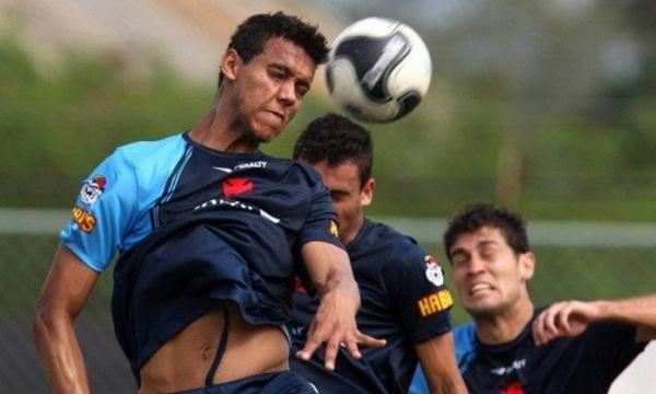 Souza defendeu o Vasco profissionalmente de 2008 a 2010