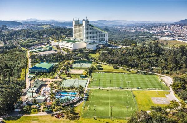 Hotel Bourbon, em Atibaia, vai receber boa parte da pré-temporada do Vasco em 2019