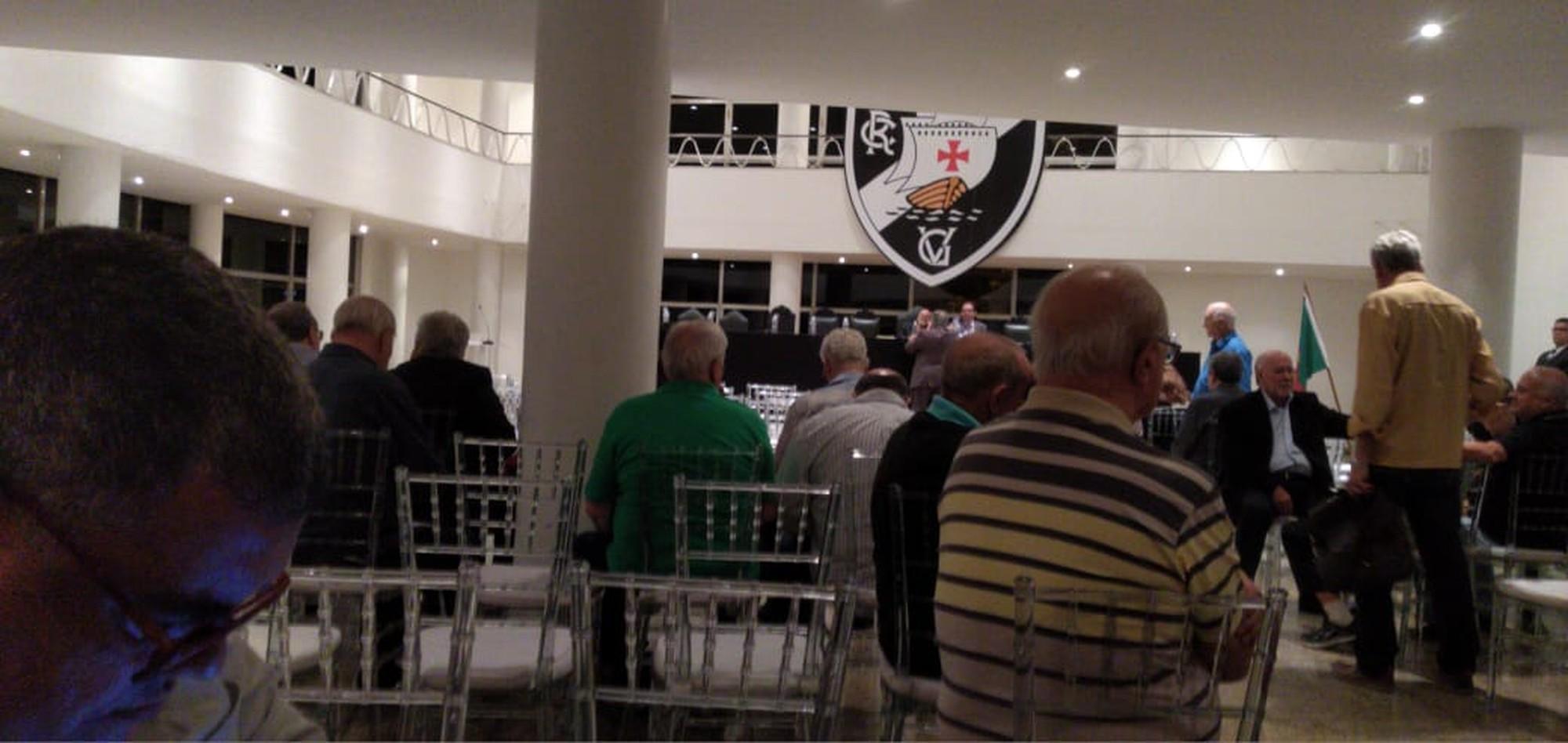 Reunião do Conselho do Vasco