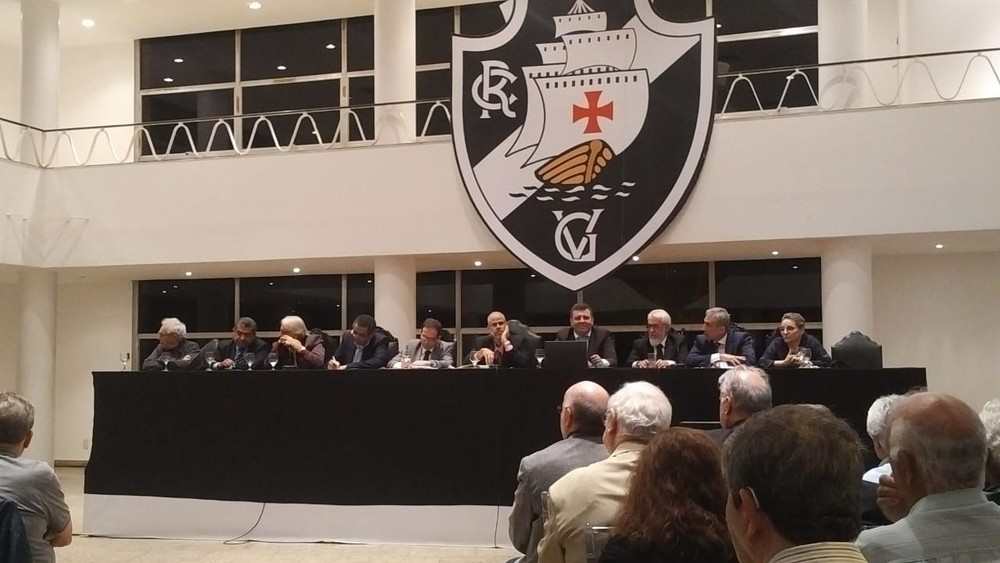 Conselho Deliberativo do Vasco se reúne nesta quarta-feira