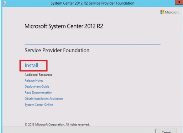 spf3 Service Provider Foundation